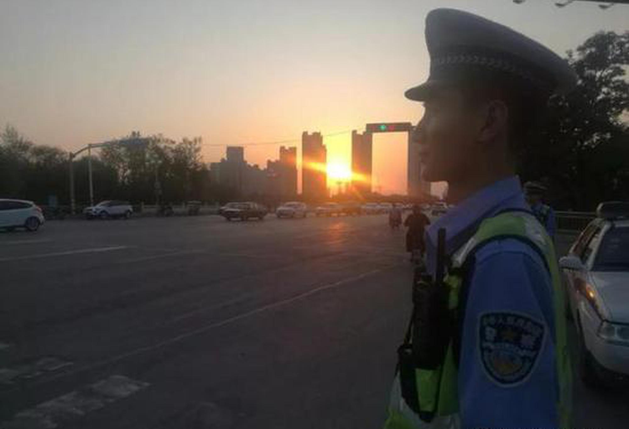 交警的一天—— 忙碌、疲惫却充实