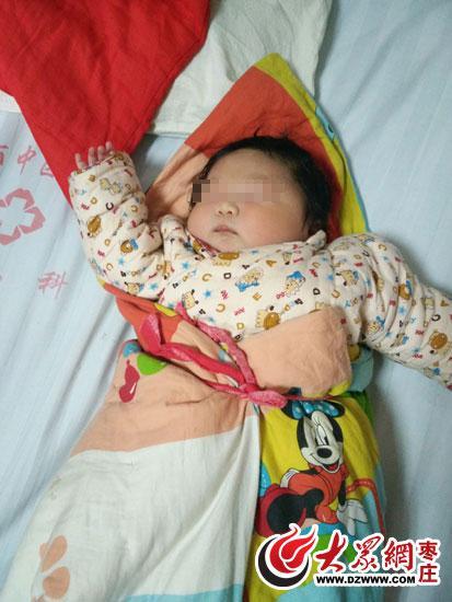 市中区人民医院迎来一名新生儿,出生时体重为12.2斤