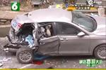 现场:杭州萧山公墓奔驰连撞数车 已致4死5伤