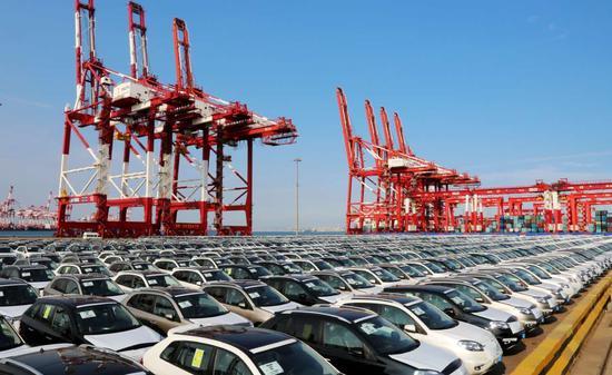 青岛汽车口岸引进来走出去 汽车产业链集聚效应凸显