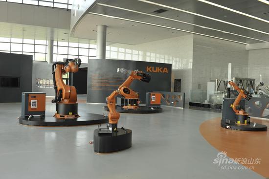 青岛国际机器人展示中心