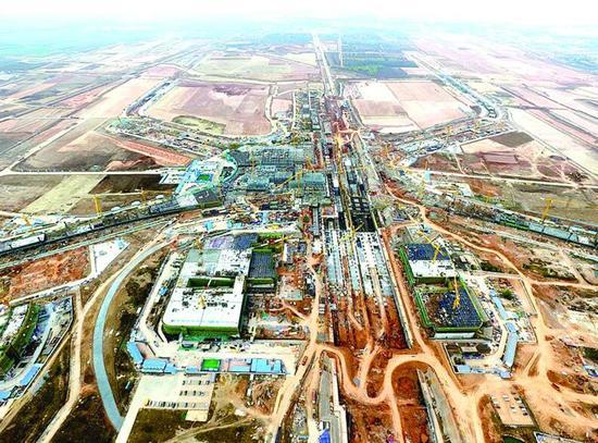 """胶东国际机场""""海星""""初现 建零换乘全通型枢纽"""