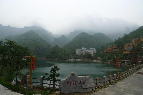 蓟县盘山风景区冰瀑