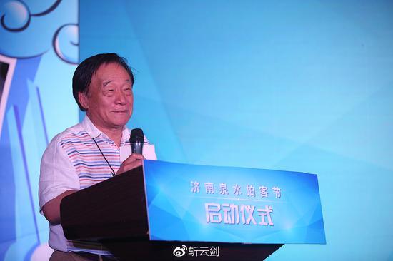 朱宪民同志现场倾情分享其摄影历程