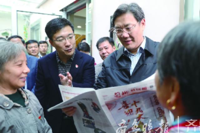 王文涛进社区调研民生:市民关心的事要多和市民商量