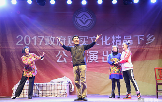 沾化区渔鼓戏剧团送戏下乡受欢迎