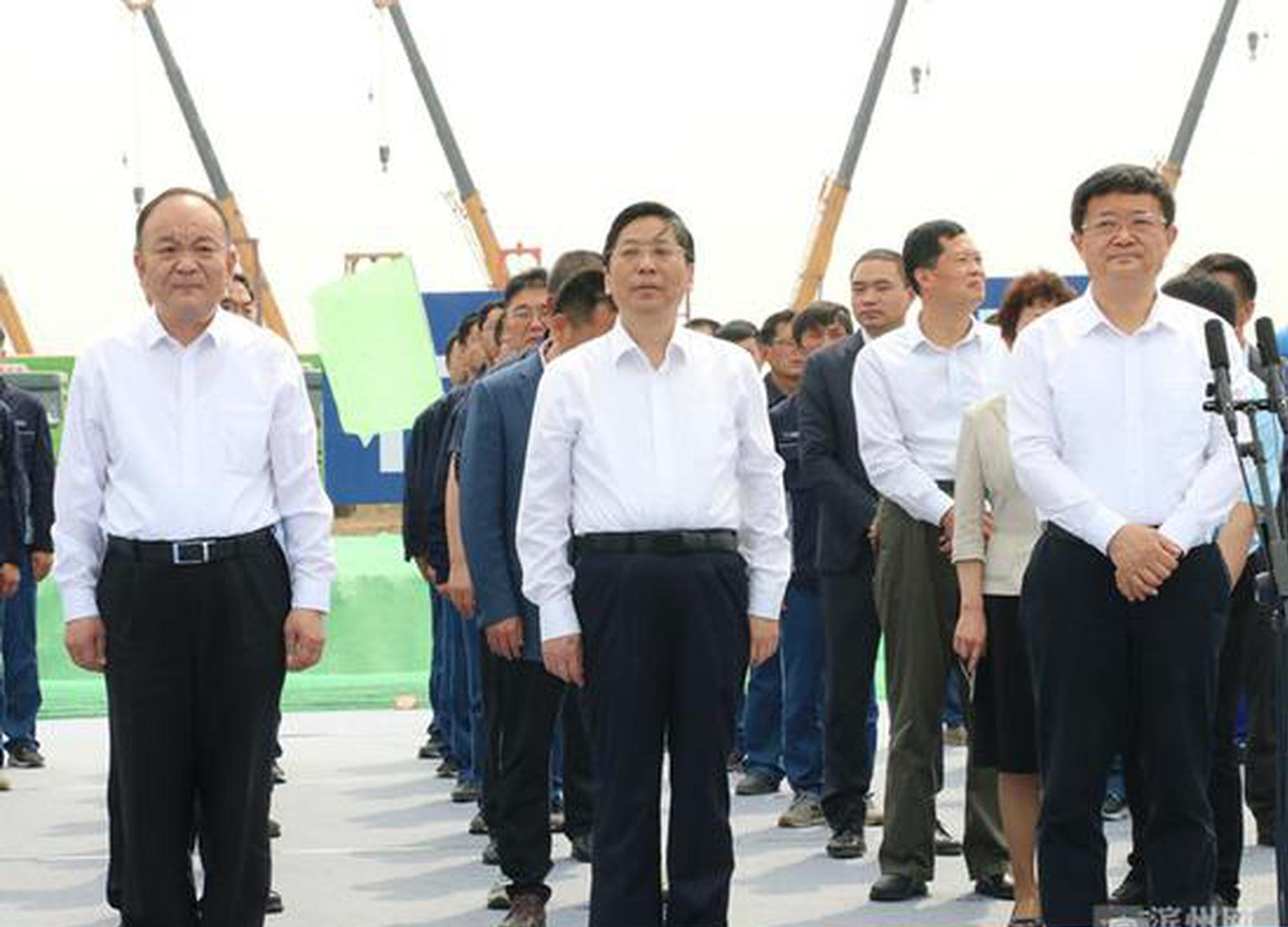 滨州市52个重大项目集中开工
