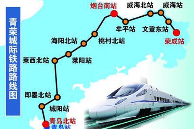 28日起青荣城际8趟列车票价下浮20% 优惠期到年底