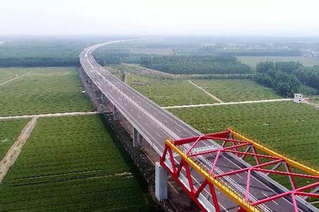 济南长清黄河大桥下月通车 到聊城只需40分钟