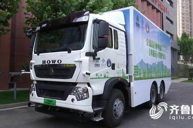 全球首款 无人驾驶电动卡车试运营5000多个小时