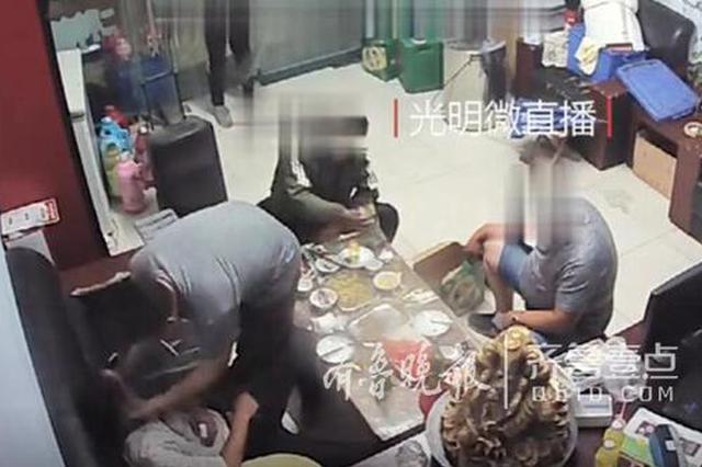 德州一男子酒后撒泼打人还辱骂民警 被拘10日罚1千元