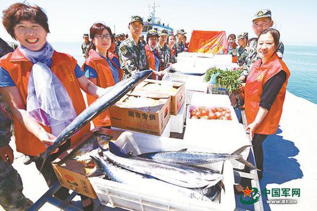 山东长岛县不成文约定:春来第一网鲅鱼送给解放军