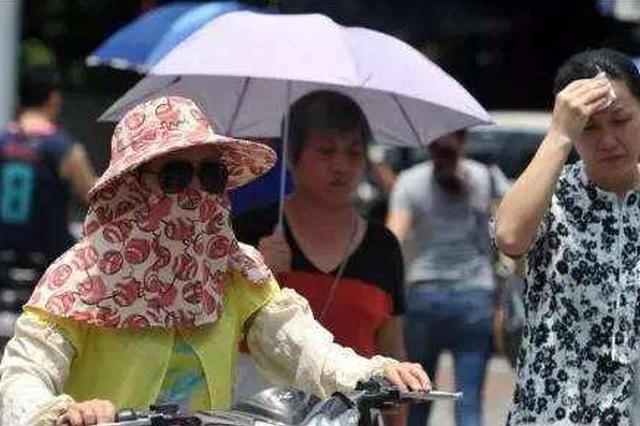 今明两天山东最高温都是35℃ 出去玩的人们别忘防暑