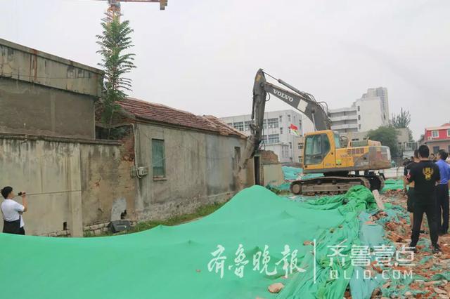 依法强拆 济南铅笔厂棚改项目住宅房屋清零