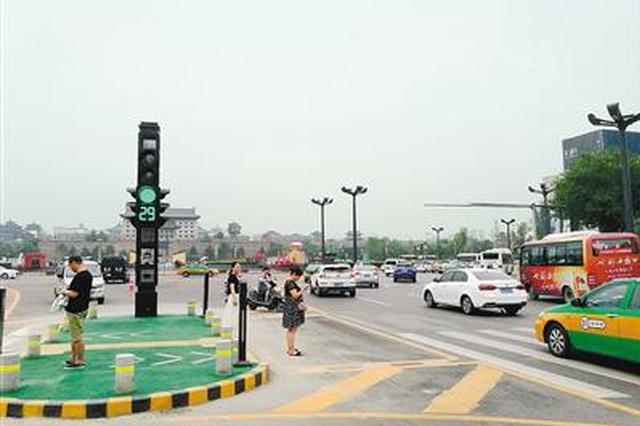 信号灯改造是否有效引质疑 西安交警请市民提意见