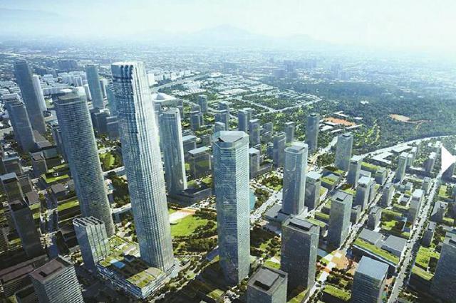 """济南中央商务区 上天入地 CBD立体""""城市综合体""""蓬勃成长中"""