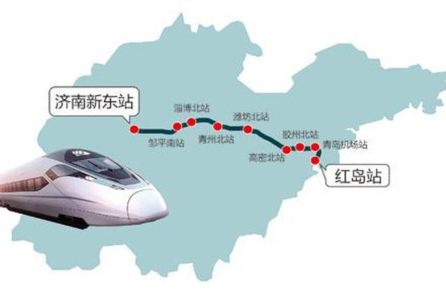 济青高铁联调联试顺利推进 4天后完成最高速度试验