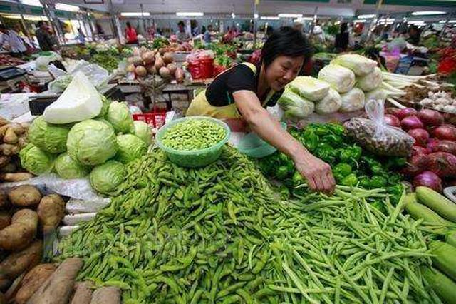 """7月""""寿光蔬菜价格指数""""下跌6个多点 哪些菜在降价"""