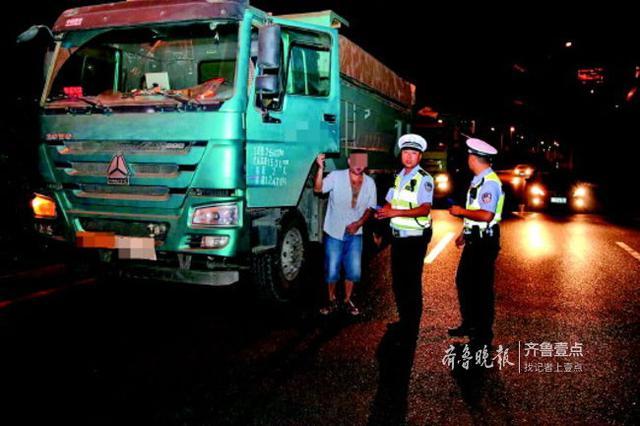 人脸识别紧盯违法 济南今年已查处大货车违法61943起