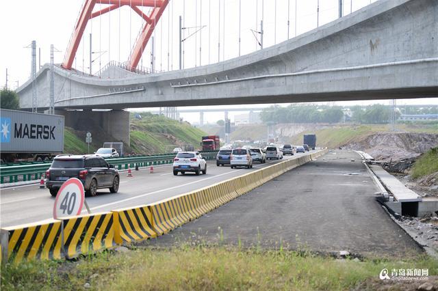 青兰高速下穿青连铁路改线工程 有望10月底完工