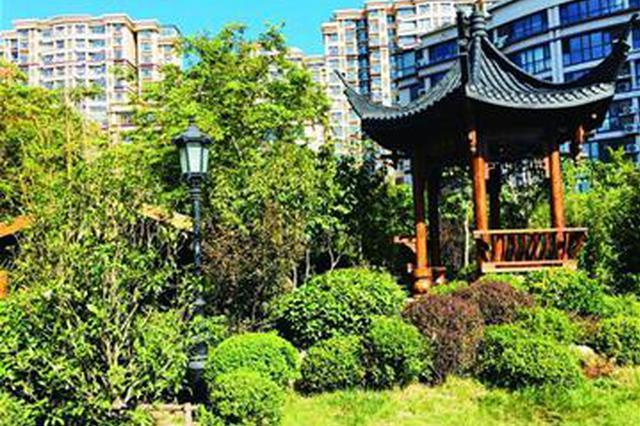 """青岛口袋公园变身""""江南园林"""" 居民每天都想来转一转"""