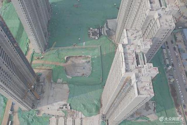 济南一在建楼盘车库塌方200平方米 业主慌了有的想退房