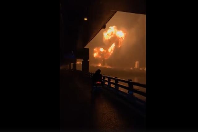大连消防通报爆炸案 天然气罐车爆炸 无人员伤亡