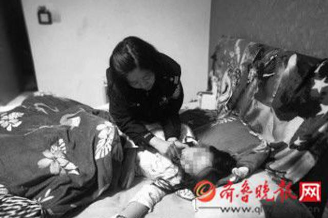 白酒加头孢还割腕 女子欲自杀!潍坊民警争分夺秒找到她