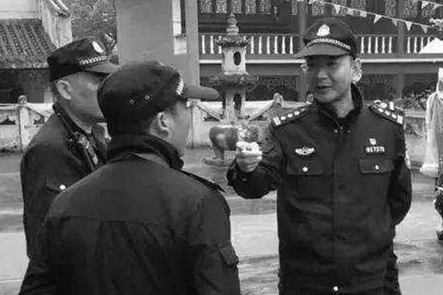 52岁民警猝死买菜路上 因太累刚申请调离所长岗位