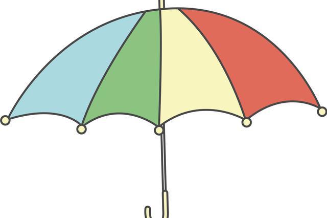 高二女生一夜间成为网红 获赞最美撑伞人