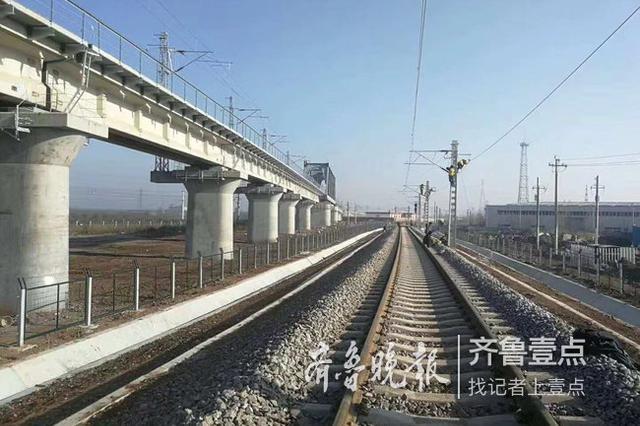 胶济胶黄联络线拉开山东省年底铁路开通大幕
