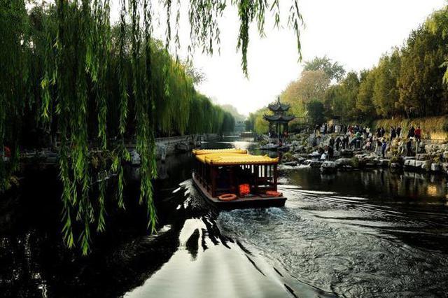 春风十里绿泉城 很文艺 很清新