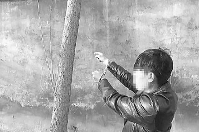 """济南公安去抓人 俩贼正好""""故地重游""""自投罗网"""