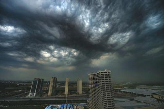 今明济南遇强对流天气 局地大雨伴雷电阵风8级