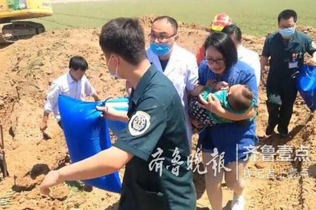 德州:齐河两岁娃跌落机井 两小时生死急救