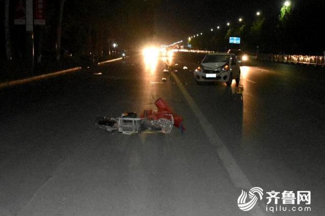 男子驾车撞倒电动车后逃逸 潍坊一对母子因抢救无效死亡