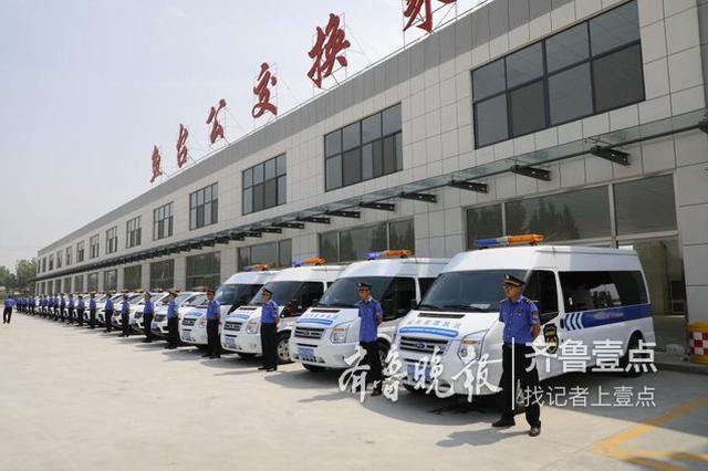 执法用车服务外包 23辆新车交付鱼台综合执法