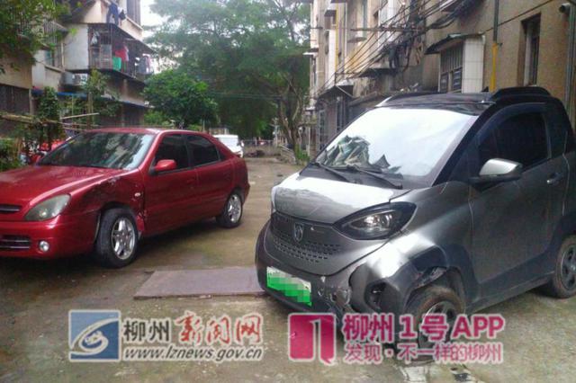 8岁儿童私开车辆几十米后撞车 车主下车后未锁门