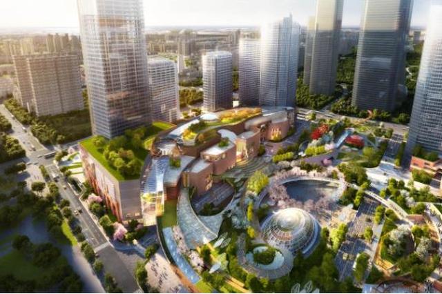 济南西客站购物广场规划进展 位于西部会展中心西临