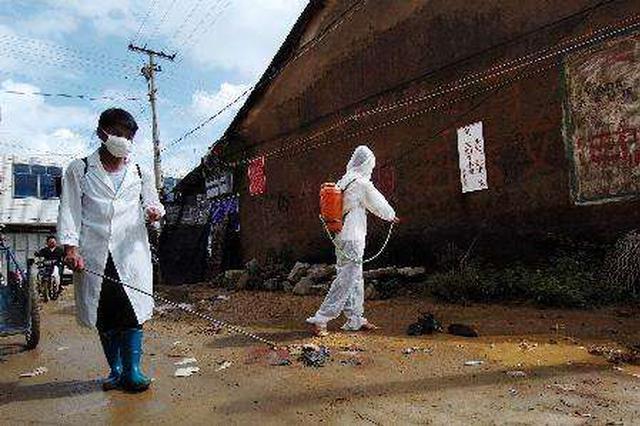 守护受灾民众卫生安全 完成200余万平米防疫消杀