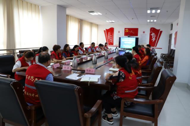 东营市疾控中心召开购买疾控志愿项目续签协议会议