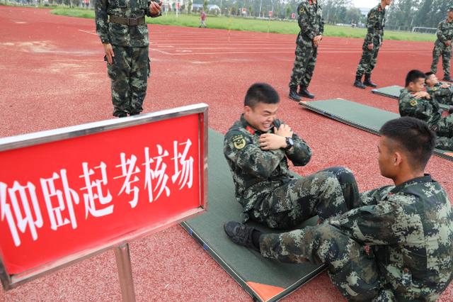 """士兵""""高考"""" 武警菏泽支队严密组织军政素质考核"""