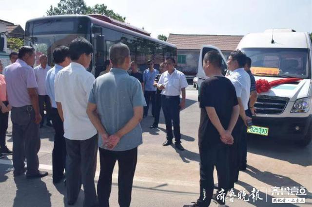 淄博626路公交车9月3日开通 沿线居民赶早争相体验