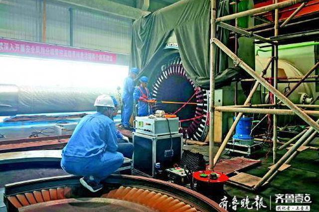 9号机组检修升级 济南黄台电厂供热余量增千万平米