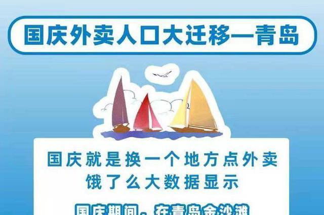 近千游客在金沙滩点鱼水饺 青岛凤凰岛、栈桥区域外卖订单量暴增