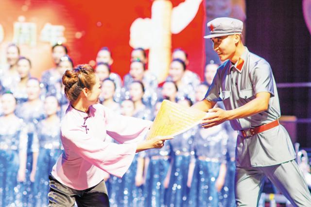 淄博市直机关举办合唱比赛 5000余干部职工参与