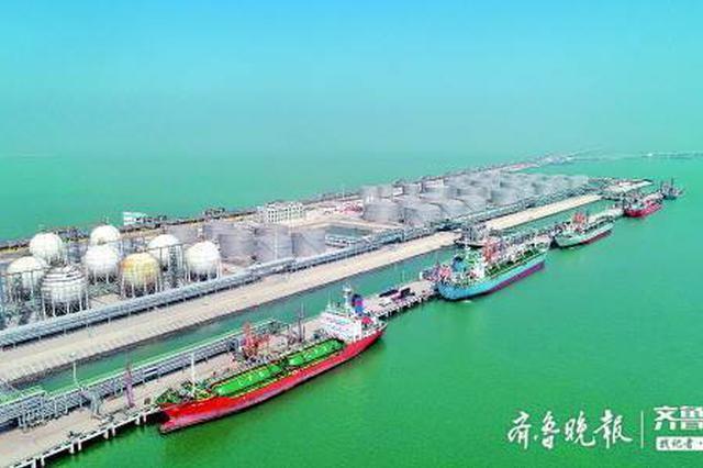 首个重点工程项目在东营港开工 10万吨级大码头助推动能转换