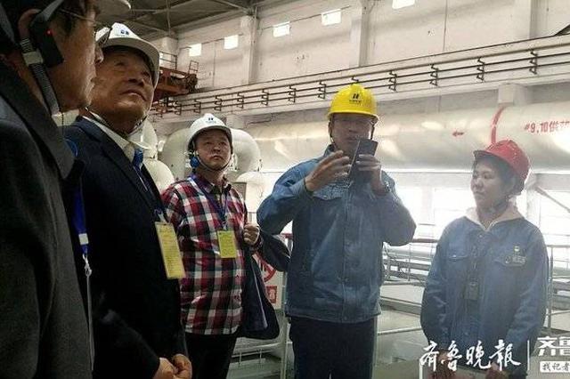 供暖季来临 济南市民代表走进黄台电厂查看供热准备