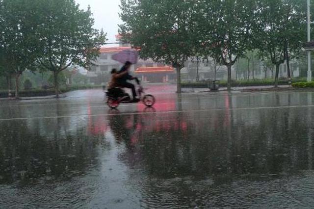 最大降水在福山区张格庄 继续发布雷电黄色预警