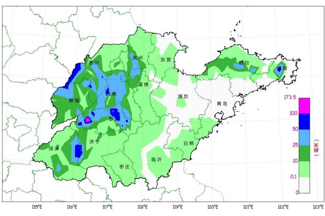山东解除雷电黄色♂预警信号 未来两天局部仍有降雨